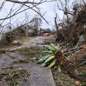 St. Croix, U. S. Virgin Islands – October 26, 2017: Showing devastation from hurricanes Irma & Maria